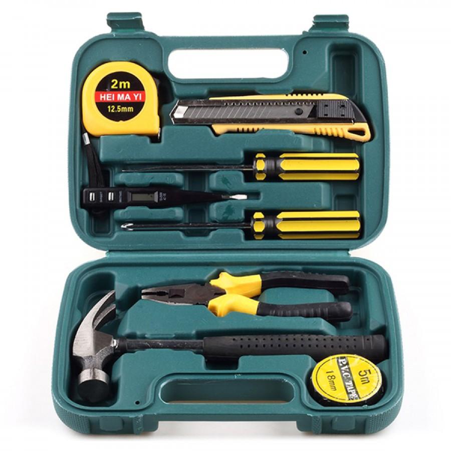 Pack Of 9 Tool Box Set – Hand Maintenance Tool Set