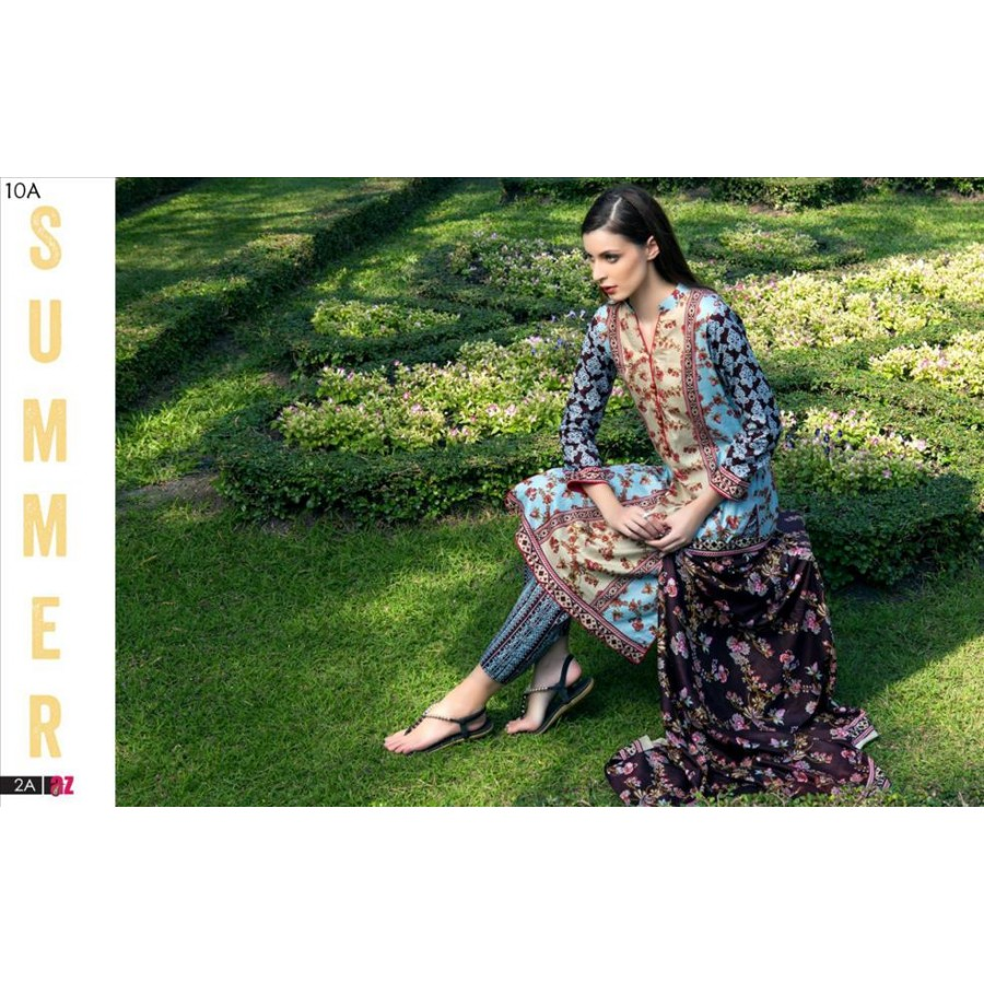 Anum Lawn Collection 2016 Design 10