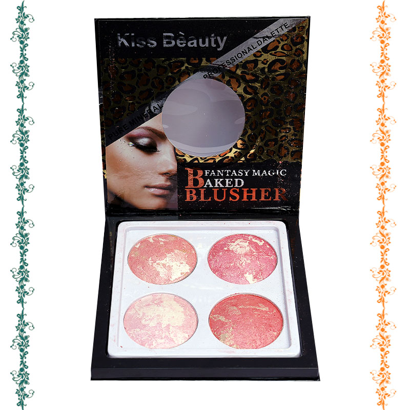 Kiss Beauty Pack Of 4 Fantasy Magic Baked Blusher
