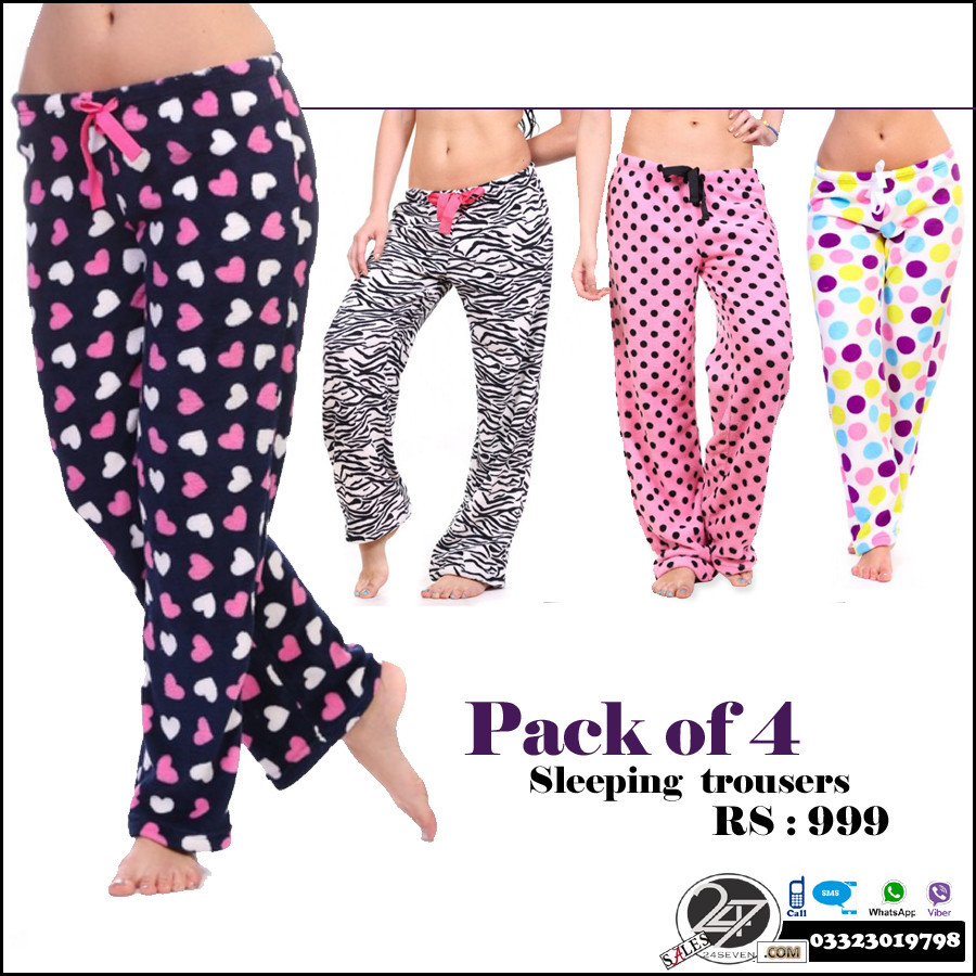 Pack Of 4 Sleeping Trouser