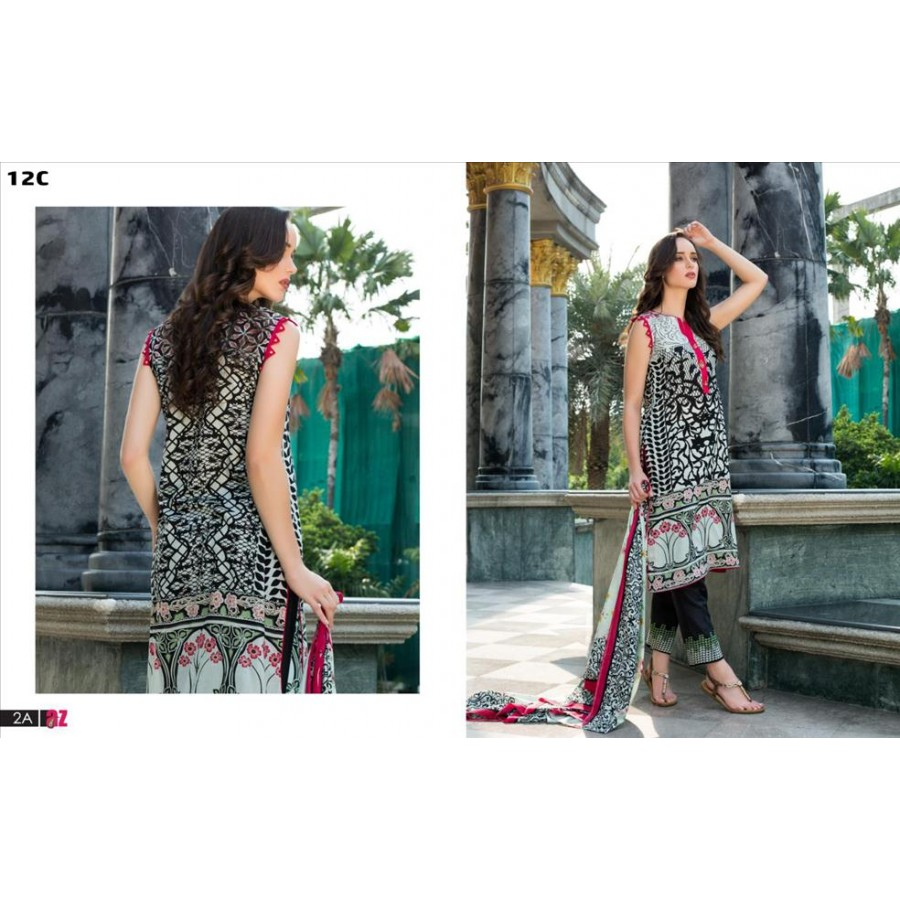 Anum Lawn Collection 2016 Design 12
