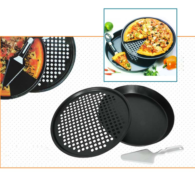 Non-Stick Pizza Pan Set