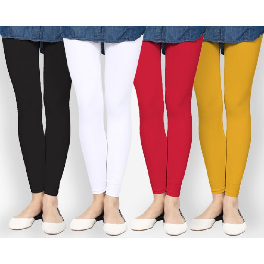 Pack of 4 Ladies Tights