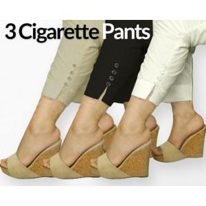 Pack of 3 Cigarette Pants