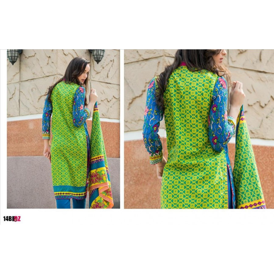 Anum Lawn Collection 2016 Design 14