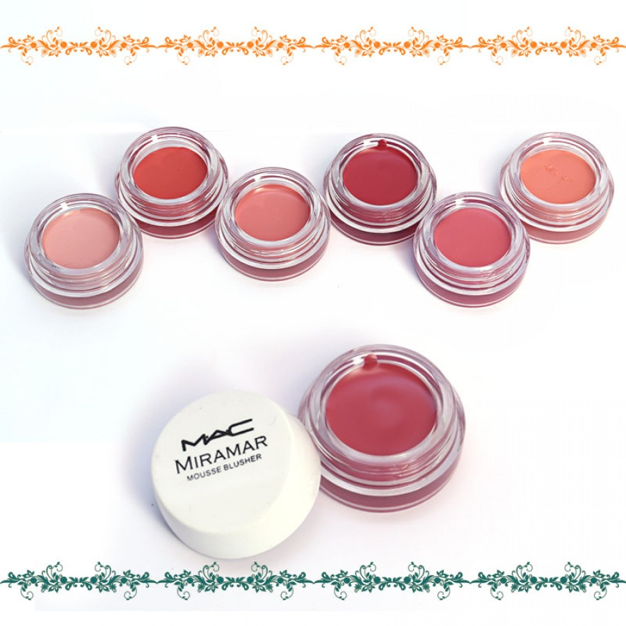 MAC Pack Of 6 Miramar Mousse Blusher