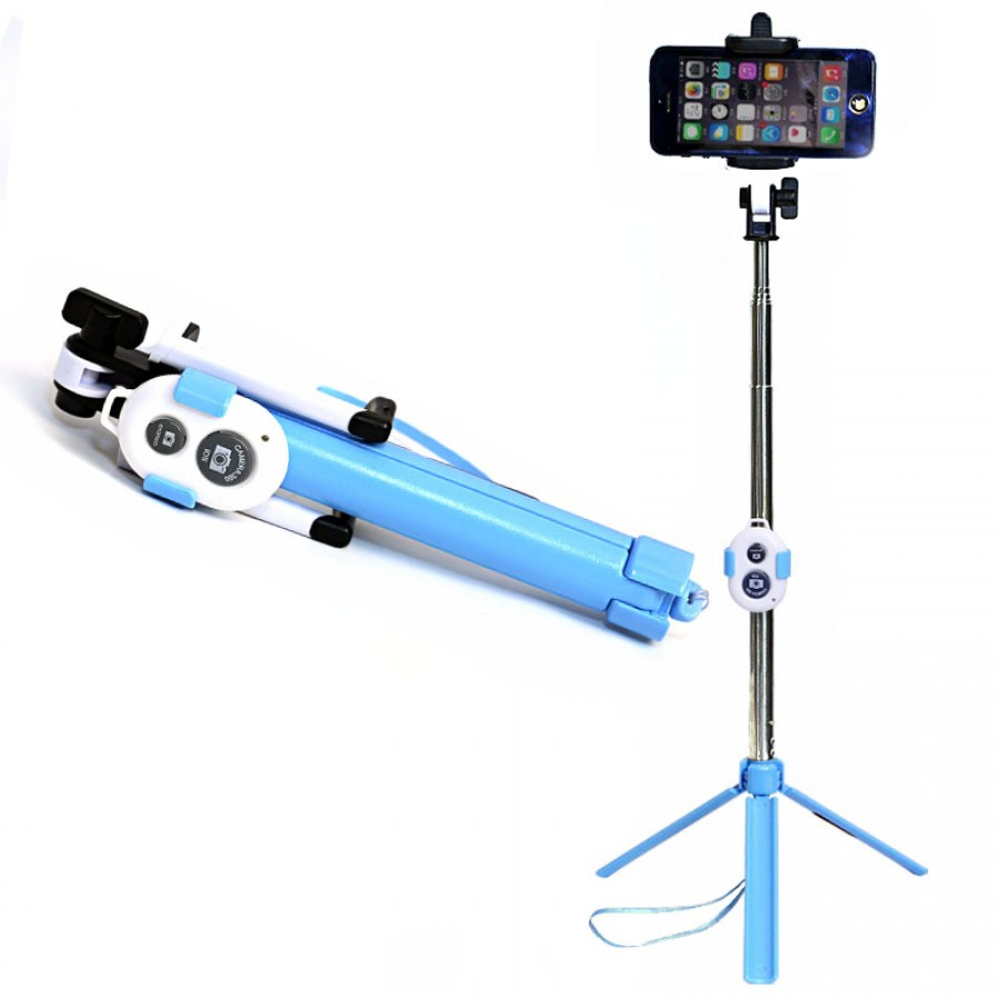 Selfie Stick With Tripod Stand (Bluetooth)