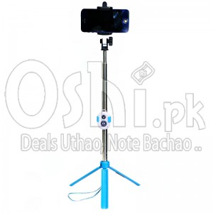 Selfie Stick With Tripod Stand (Bluetooth)