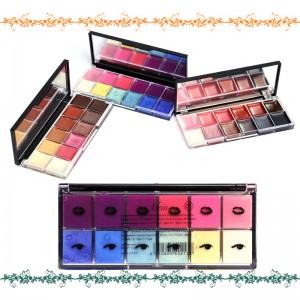 Meis Pack Of 3 Eye & Lip Shades Kits