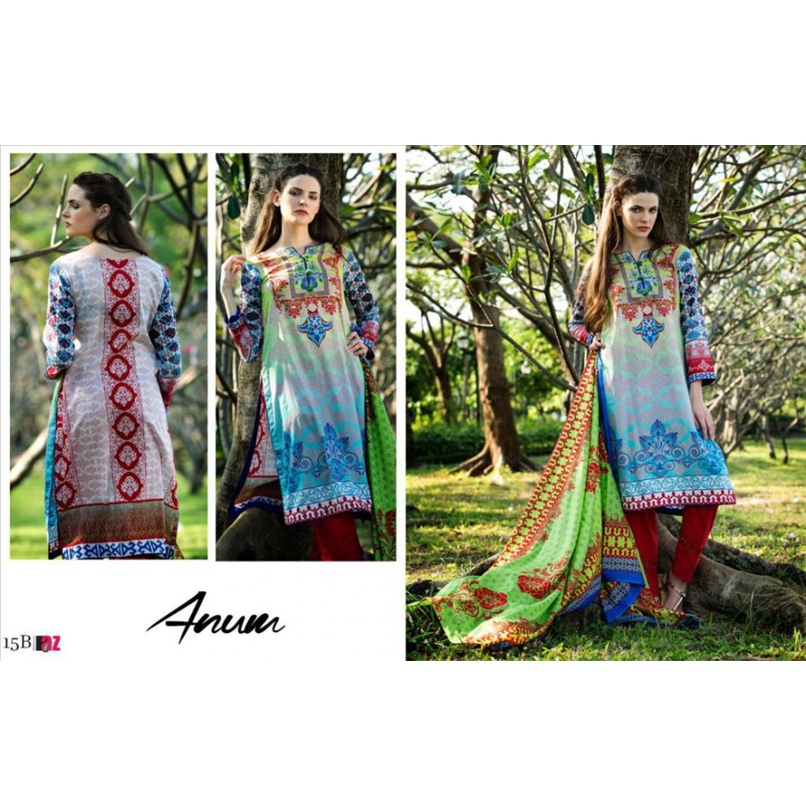 Anum Lawn Collection 2016 Design 15