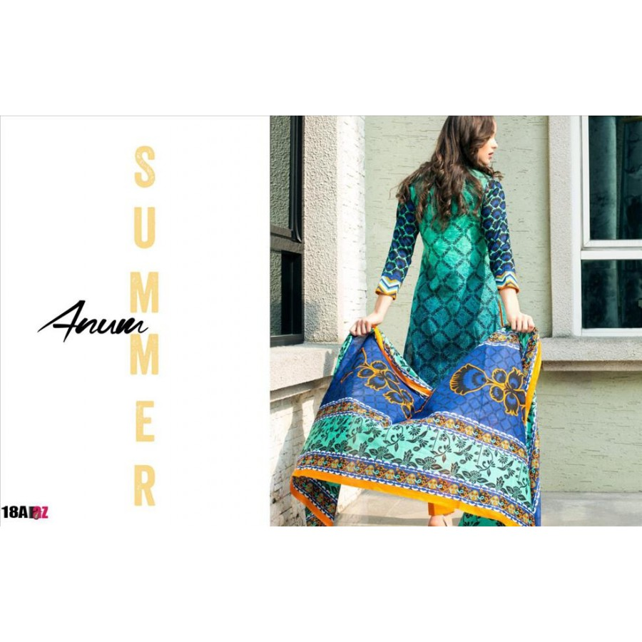 Anum Lawn Collection 2016 Design 18