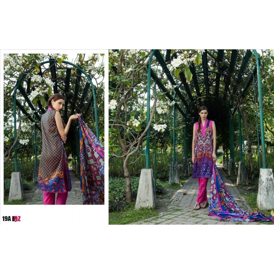 Anum Lawn Collection 2016 Design 19