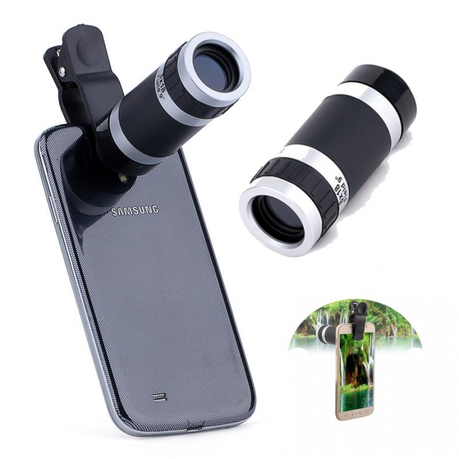 Universal Clip Camera Lens And Telescope