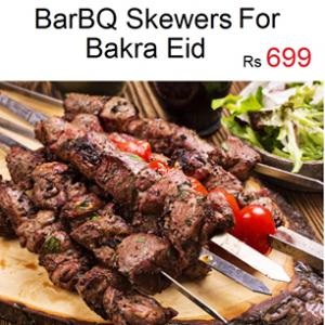 Barbq Skewers for Bakra Eid