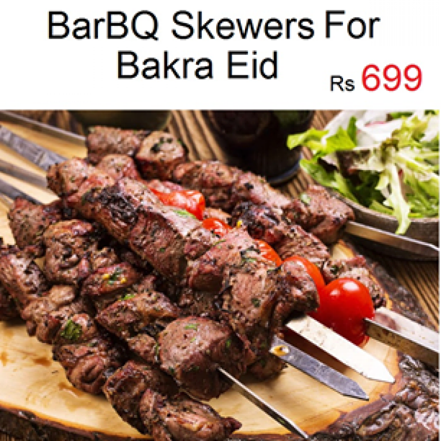 Barbq Skewers for Bakra Eid