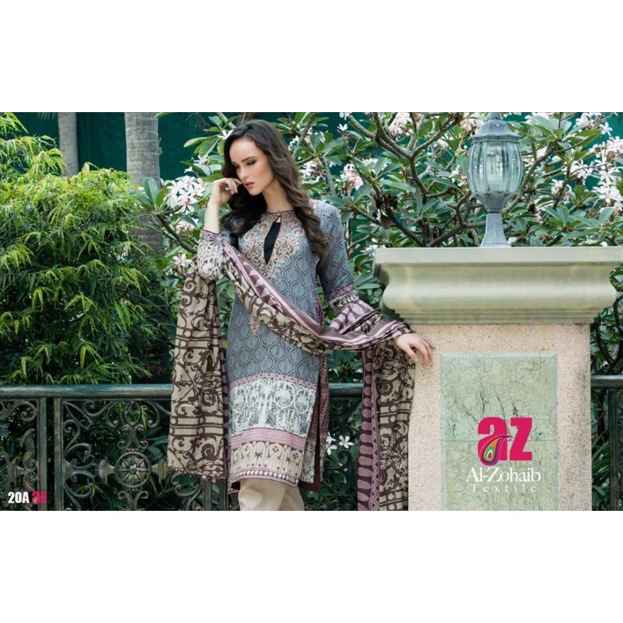 Anum Lawn Collection 2016 Design 20