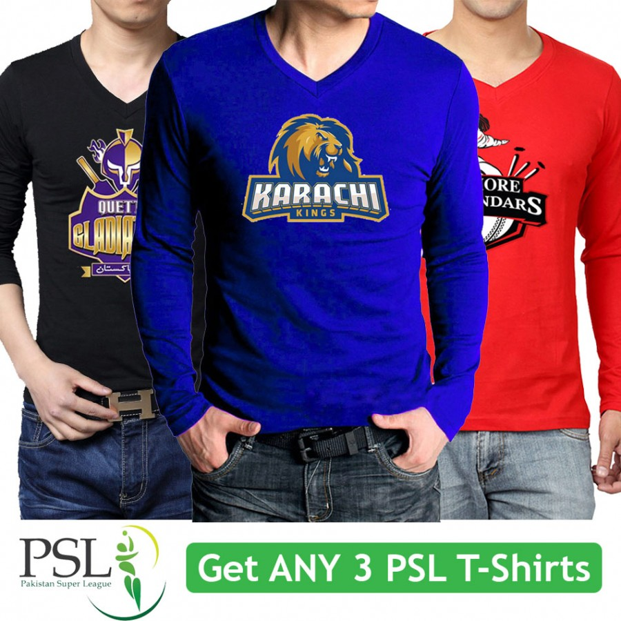Get any 3 PSL T-Shirts