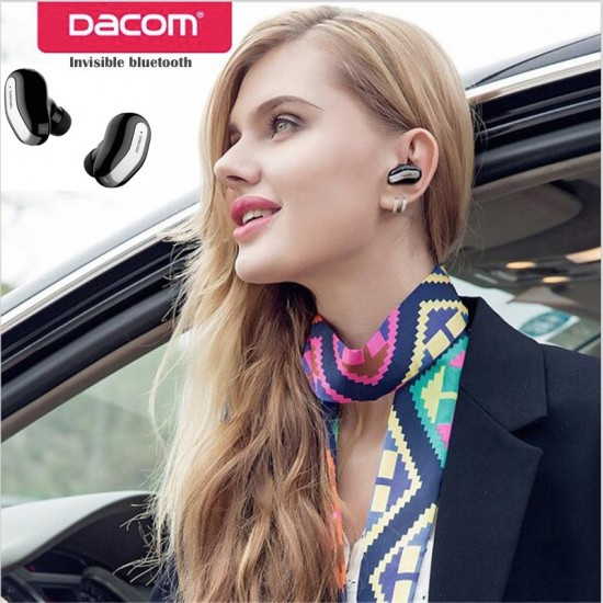 Dacom K8 Bluetooth Earphones, Smallest Mini Invisible V4.1 Wireless Bluetooth Headset