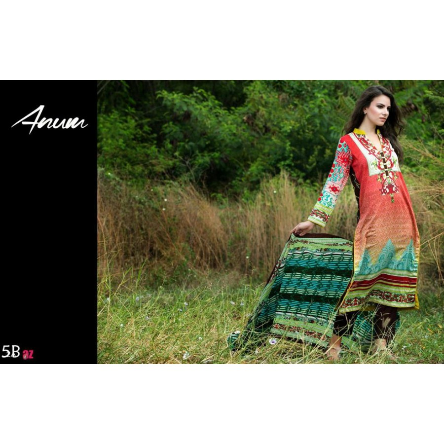 Anum Lawn Collection 2016 Design 5