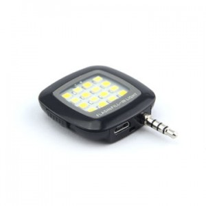 Bluetooth Selfie Stick + Selfie LED Light