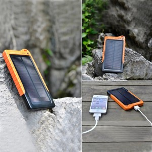 Solar Charger for Cell Phones and Tablets