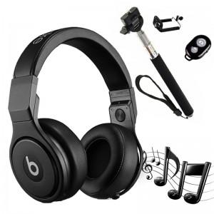 Beats Pro Noise Cancelling Over-Ear Headphones + (Free Bluetooth Selfie Stick)