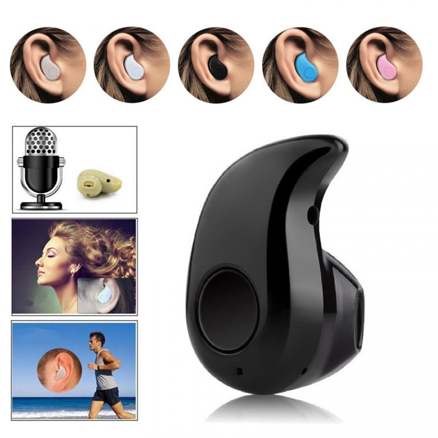 New Mini Wireless Bluetooth 4.0 Stereo In-Ear Headset Earphone Earbud Earpiece