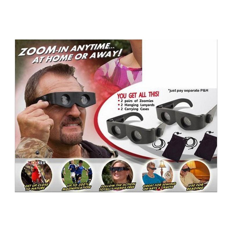 New Zoomies Hands Free Binoculars