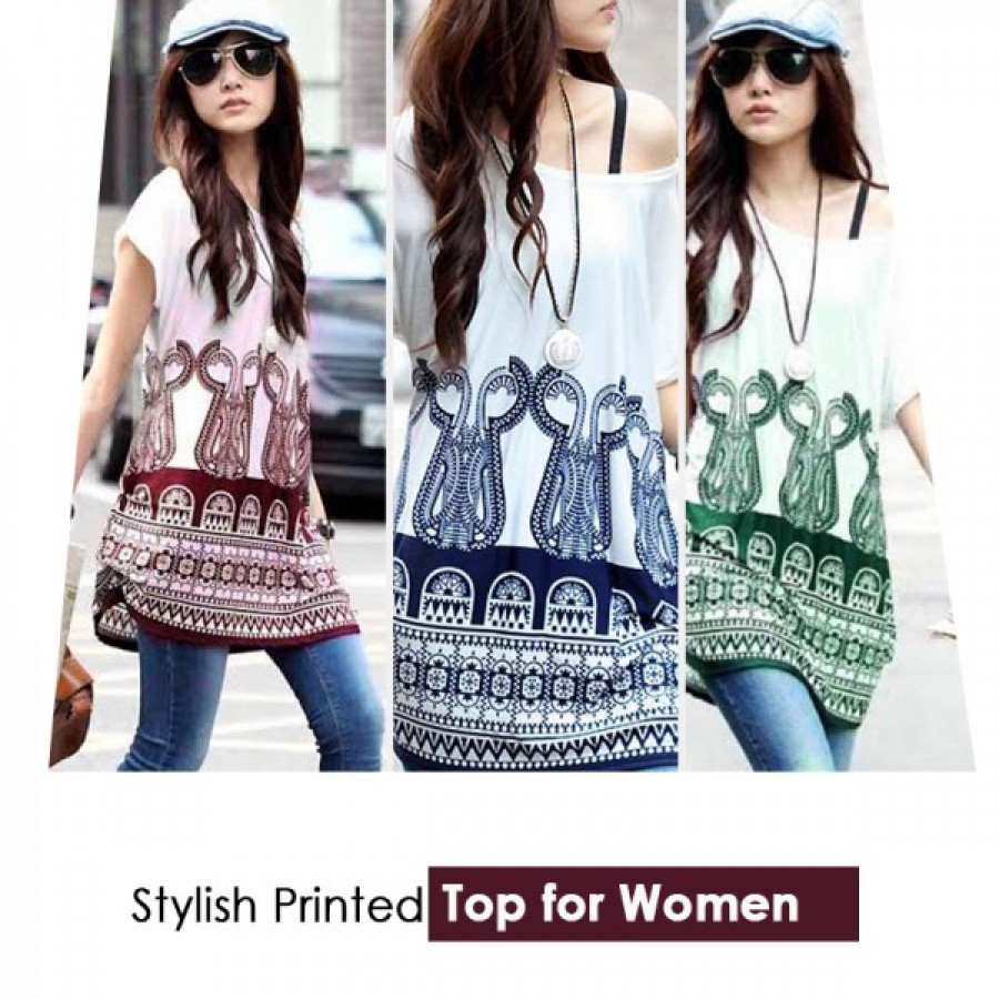 Stylish Printed Top for Women