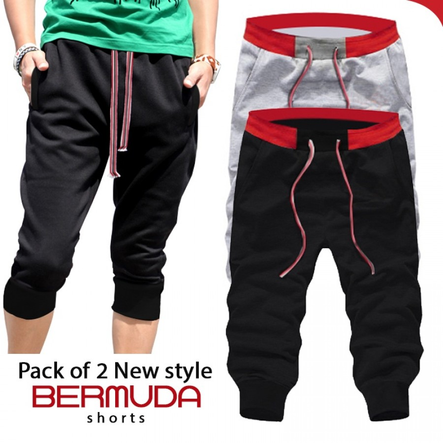 Pack of 2 New Style Bermuda Shorts