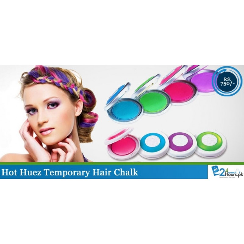 Change Your Hair Color Everyday! Hot Huez Temporary Hair Chalk