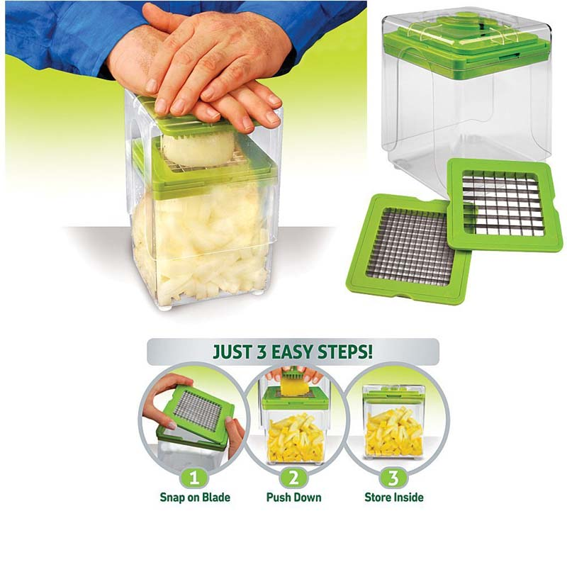 Chop Magic Chopper - The Fast & Easy Way To Slice And Dice!