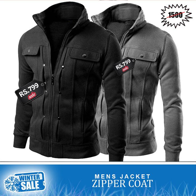Men s Clothing   Mens Jackets Zipper Coats - Winter Sale cb2e4947634