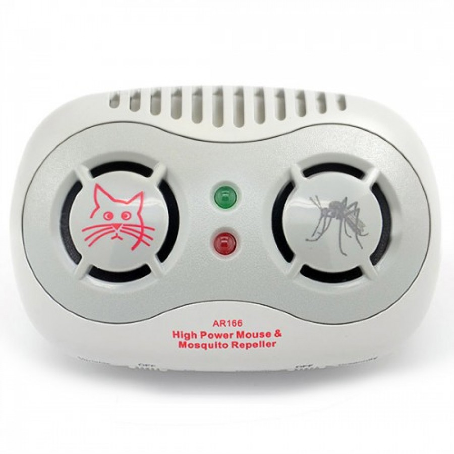 Super Ultrasonic Mouse & Mosquito Sonic Repellent Portable Repeller