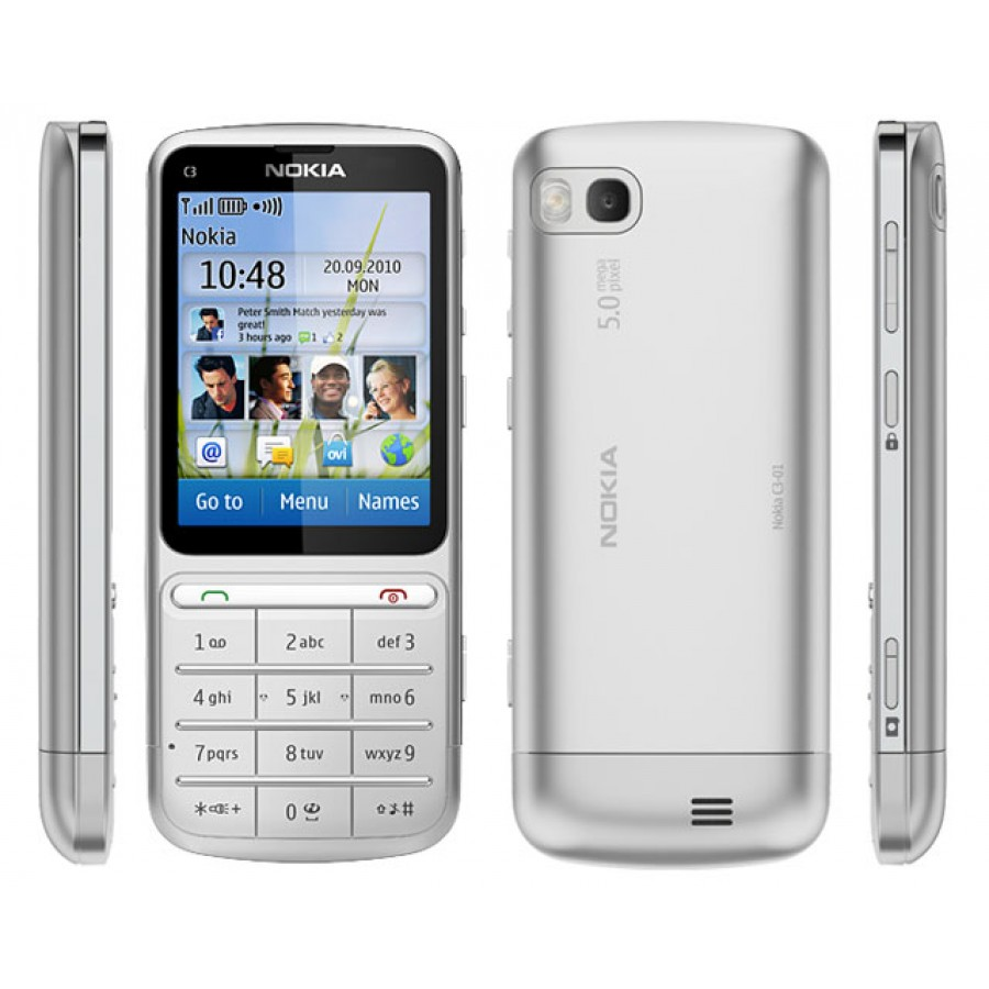 Nokia C3-01 Touch & Type - Rs.5500