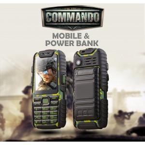 Commando Mobile+Power Bank
