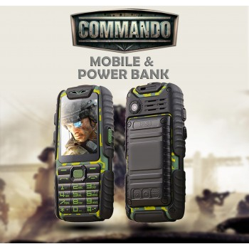 Commando Mobile+Power Bank