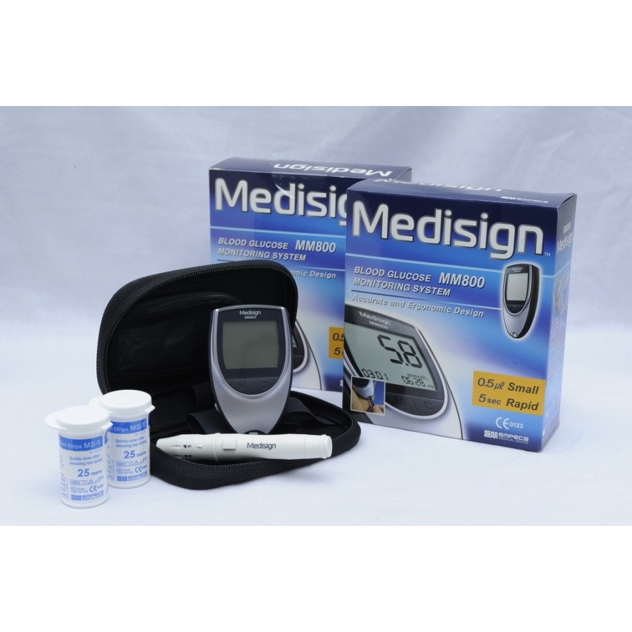 Medisign MM 800 Glucose Monitoring Device