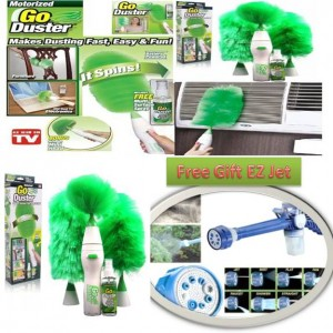 Go Duster with Free EZ JET Water Cannon