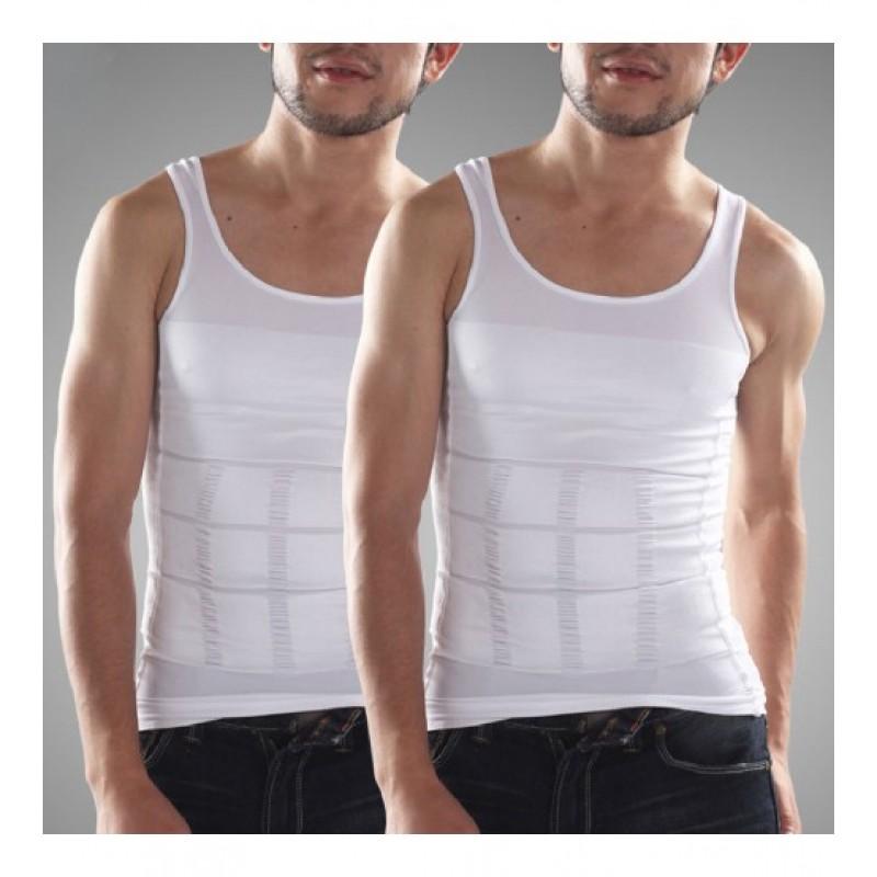 Men's Clothing : Pack of 2 Slim n Lift Slimming Vest