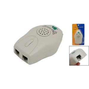Grey Loud Telephone Ring Amplifier RJ11 Ringer