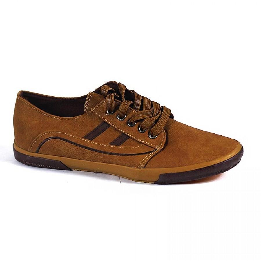 Hebilla Brown Sneaker