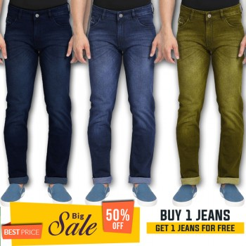Buy 1 jeans get 1 jeans free -BUMPER DISCOUNT SALE