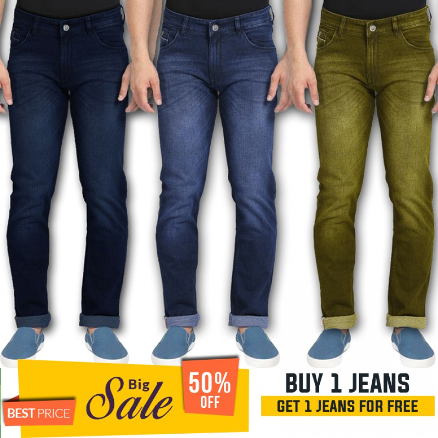 Buy 1 jeans get 1 jeans free -BUMPER DISCOUNT SALE