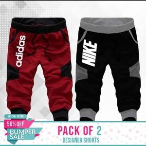 Pack Of 2 ( Designer Shorts) - BUMPER DISCOUNT SALE