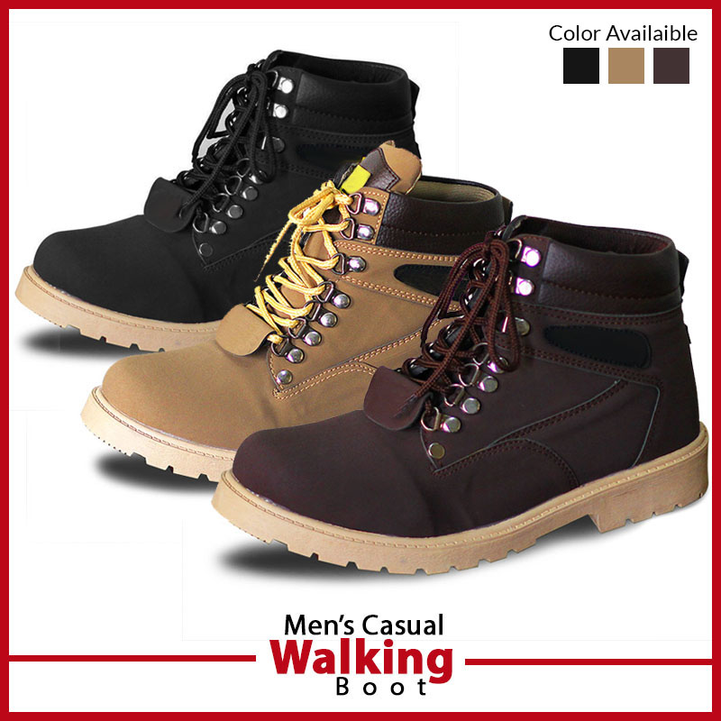 Mens Casual Walking Boot