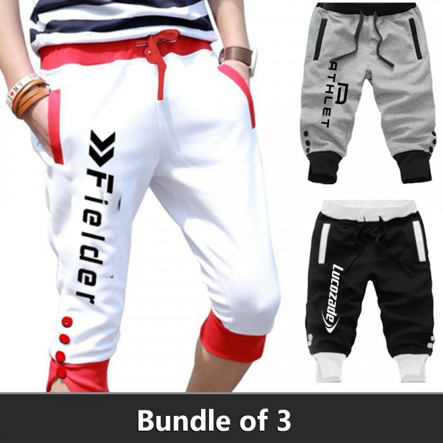 Bundle Of 3 (Fielder,Athlete,Lucozade Shorts)