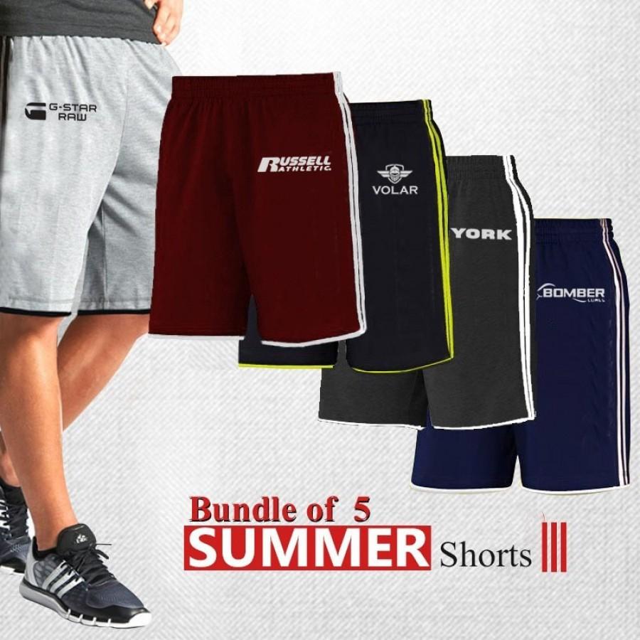 BUNDLE OF 5 SUMMER SHORTS