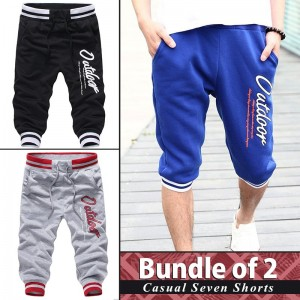 Pack of 2 ( Casual Seven Shorts )