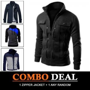 Combo Deal (1 zipper jacket + 1 any random)